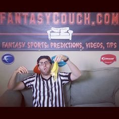 Replacement Refs skit for a fantasy football video. Also my Halloween costume!