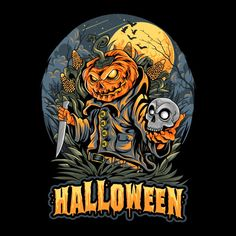 Bloody Halloween, Feliz Halloween, Halloween Scarecrow, Halloween Cartoons, Halloween Poster, Halloween Books, Scary Halloween, Halloween Vector, Halloween Designs