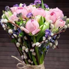 Super Ideas For Flowers Boquette Spring Birthday Wedding Flower Decorations, Wedding Flower Arrangements, Flower Bouquet Wedding, Outside Wedding Ceremonies, Birthday Greetings For Daughter, Bouquet Images, Happy Birthday Flower, Birthday Ideas, Birthday Messages
