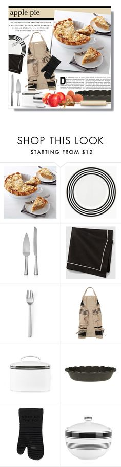 """""""Favorite Pie: Apple Pie"""" by federica-m ❤ liked on Polyvore featuring interior, interiors, interior design, home, home decor, interior decorating, Kate Spade, Menu, Emile Henry and Fox Run"""