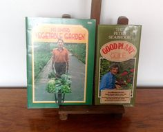 A pair of vintage gardening books by Peter Seabrook and Geoffrey Smith.  The first is a paperback copy of Mr. Smiths Vegetable Garden by Geoffrey Smith, published by the B.B.C in 1977. This book is full of iseful information on growing fruit and veg. With line drawn illustrations. It measures.. 6 by 8 and is in good condition, some very light scuffing to spine.  The second book is a small hardback copy ( with dust jacket) of The Good Plant Guide by Peter Seabrook. Published by Cassell…