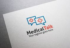 Medical Talk Logo by XpertgraphicD on @creativemarket