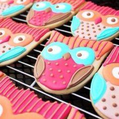 Owl cookies  so cute!