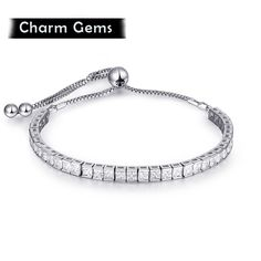 Wholesale Sale Fashion jewelry crystal heart Opal charm bracelet diy Crystals from Swa for women's gift