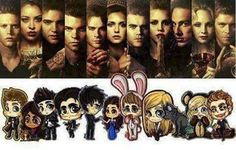 TVD chibi drawings - Google Search