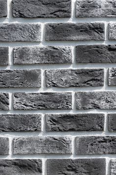 Country 672 interior & exterior These tiles were made to imitate vintage Belgian bricks. Each tile is characterised by a unique finish and shading. Grey Brick, Faux Brick, Brick And Stone, Grass Texture, Brick Texture, Wood Wall Design, Ceiling Design, Types Of Bricks, Brick Material