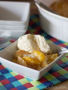 Southern Peach Cobbler. This classic Southern Peach Cobbler is comfort food at it's best - warm and delicious and easy to make! Find quick, easy and delicious recipes at DollarGeneral.com.