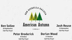 Programa del Ciclo American Autumn 2014 en Ourense. Ocio en Galicia