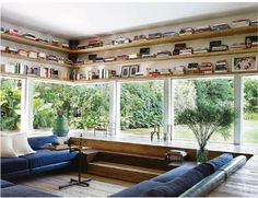 Architectural Digest - India 3. I've always wanted a conversation pit!