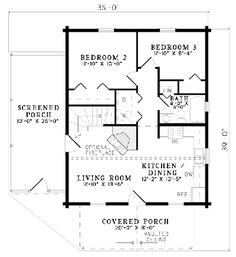 1000 sq ft log cabins floor plans cabin house plans for Weekend cabin floor plans