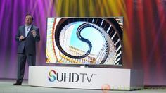 At the International Consumer Electronics Show 2015 in Las Vegas this January Samsung showed off its latest flagship TV series, the SUHD TVs, and. Samsung Smart Tv, Consumer Electronics, Tv Series, Las Vegas, Last Vegas