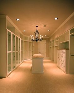 I've always dreamed of a huge closet, but now I think, I'd have so much space to be filled. What would I do?? But thin I think, I guess I'd just have to buy more crap.