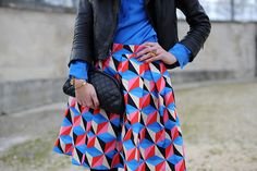 really love this skirt and its pattern!