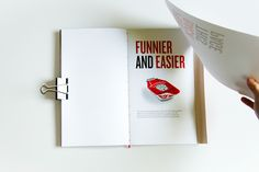 Heinz Annual Report by Cécile Dumetier, via Behance #annualreport #editorial