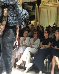 @naomiwatts Sophia Loren Roberta Armani and Kate Winslet sit front row at @Armani Privé.  via V MAGAZINE OFFICIAL INSTAGRAM - Celebrity  Fashion  Haute Couture  Advertising  Culture  Beauty  Editorial Photography  Magazine Covers  Supermodels  Runway Models