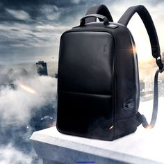 Lifepack Solar Powered and Anti-Theft Backpack with laptop storage - edwardjose. Wow 3, Laptop Storage, Anti Theft Backpack, Solar Power, Leather Backpack, Fashion Backpack, Backpacks, Handbags, Personalized Items