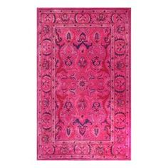 Nuloom Pink Rectangular Indoor Handcrafted Area Rug (Common: 5-Ft X 8-Ft; Actual: 5-Ft W X 8-Ft L) Spre31a-508