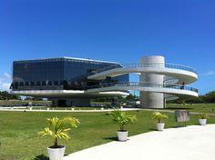 Estação Cabo Branco em João Pessoa, PB Paraiba, Mansions, Architecture, World, House Styles, Places, Amazing Architecture, Target, Islands