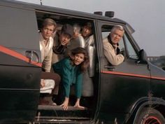 1980s Tv Shows, Old Tv Shows, The Ateam, Amanda Allen, A Team Van, Jackie Guerrido, George Peppard, Heroes For Hire, Z New