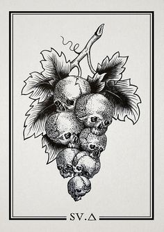 sweet as can be Kunst Tattoos, Skull Tattoos, Ink Illustrations, Illustration Art, Dark Art Drawings, Dark Tattoo, Arte Horror, Tattoo Sketches, Gravure