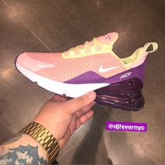 """9586aa56de75f2 FEVER THE PLUG 👟🔌 on Instagram  """"NIKE AIR MAX 270 """"LUCKY CHARMS"""" KIDS  SIZES 4-7 SERIOUS INQUIRES ONLY DM OR TEXT 347-819-1207 ..."""