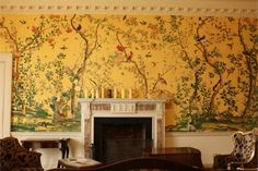 Allyson mcdermott historic interiors, conservation,wallpapers paints - INTERIOR DESIGN, RECREATION AND INSTALLATION