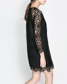 $80 Image 4 of LACE DRESS from Zara