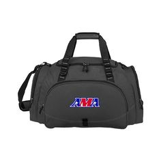 American Motorcyclist Association Challenger Team Charcoal Sport Bag AMA