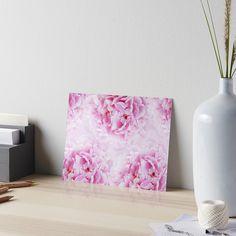"""Pink Peonies Dream #1 #floral #decor #art"" Art Boards by anitabellajantz | Redbubble"