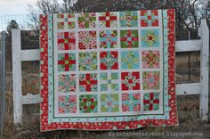 Picnic Rollup Christmas Quilt