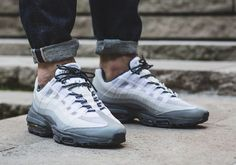 Nike Air Max 95 Ultra Essential Stealth White Cool Grey Men's Shoes - Landau Store - Product Review - April 14, 2017