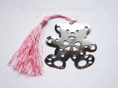 Marque-page ours nounours enfant fille mignon par DoucesCreations