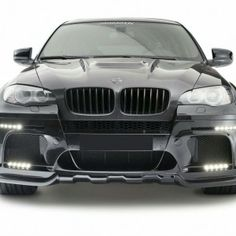 BMW X6M E 71 Wide Body Kit  Front Bumper Rear Bumper LED Lights x 2 sets Front Fenders Front and Rear Fender Flares Dual Exhaust Cat Back  Sale Price : $6,500.00