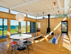 Fire island beach house | Treehugger | #wood #design #architecture