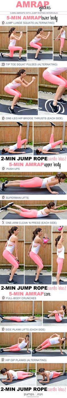 AMRAP Quickies Workout