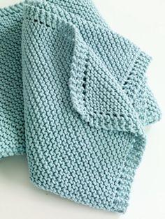 corner crochet baby blankie