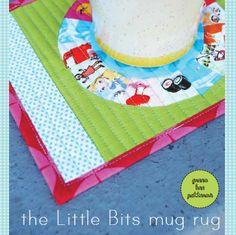 The Little bits mug Rug