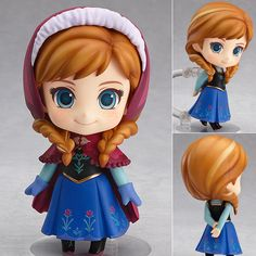 Nendoroid 550 Anna from Frozen  Now available in stock from: www.figurecentral.com.au  #nendoroid #anna #frozen #disney #figurecentral