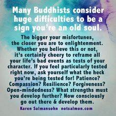 Inspirational & Positive Life Quotes : Are you an old soul? If you're dealing with many challenges right now you m Old Soul Quotes, Wise Quotes, Quotes To Live By, Inspirational Quotes, Buddhist Philosophy, Word Of Advice, Spiritual Awakening, Spiritual Guidance, Spiritual Wisdom