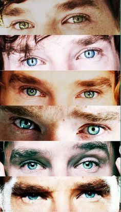 """""""Best Cumbereyes post ever..."""" - Sometimes it's hard to believe that these eyes belong to the same man."""