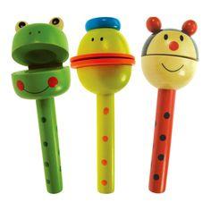 Bigjigs toys, Drewniane kołatki ze zwierzątkami
