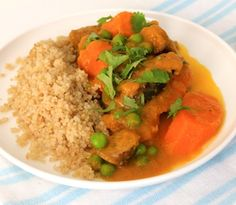 A classic home-style family friendly gluten free recipe. Sugar Free Recipes, Gluten Free Recipes, Curried Sausages, Ground Turkey, Free Food, Healthy Snacks, Dairy Free, Curry, Stuffed Peppers