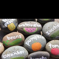 What's growing name stones. got to try these, so easy.