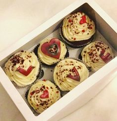 Cupcakes with love. #food#cupcake#love#cook#dessert#fashion