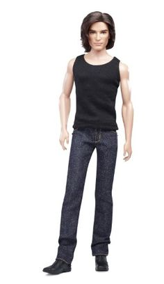 Barbie Collector Basics Ken Model #15 - Collection #2. Barbie Basics takes the fashion basic to new heights with in denim. Featured in a variety of denim jeans with different cuts and colors and details. Jeans feature details such as real pockets with embroidered Barbie logo and metal grommets. Each doll has a unique T-shirt to coordinate with the jeans. Add one of the accessory packs to personalize your very own Barbie doll.