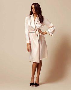 Gowns   Kimonos by Agent Provocateur - Classic Dressing Gown Agent  Provocateur 6a03a5f60