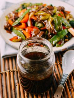 Chinese Stir-Fry Sauce - Cook like Chinese restaurants with this easy stir-fry sauce recipe. Choose any combination of meat and vegetables to make consistently great-tasting homemade stir-fries. Chinese Stir Fry Sauce, Chinese Brown Sauce, Easy Stir Fry Sauce, Stir Fry Oyster Sauce, Chicken Stir Fry Sauce, Stir Fry Recipes, Sauce Recipes, Freezer Recipes, Yummy Recipes