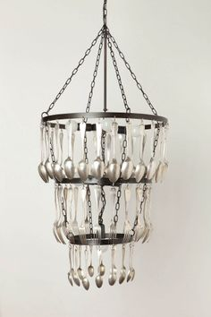spoon and fork chandelier