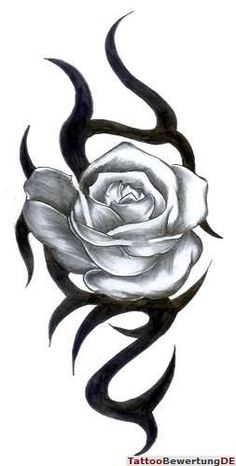Tribal Rose Tattoos, Purple Tattoos, Black Rose Tattoos, Feather Tattoos, Body Art Tattoos, Sleeve Tattoos, Tatoos, Simple Tattoos For Guys, Rose Tattoos For Women