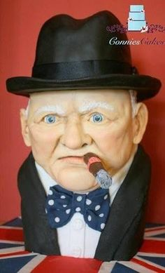 Winston Churchill - Cake by Constance Grindrod